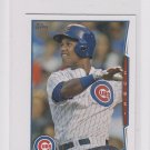 Starlin Castro Trading Card 2014 Topps Mini Exclusives #603 Cubs