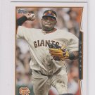 Pablo Sandoval Trading Card 2014 Topps Mini Exclusives #327 Giants
