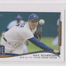 Max Scherzer Trading Card 2014 Topps Mini Exclusives #630 Tigers AS