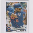 David Wright Trading Card 2014 Topps Mini Exclusives #600 Mets