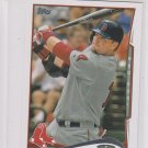 A.J. Pierzynski Trading Card 2014 Topps Mini Exclusives #595 Red Sox