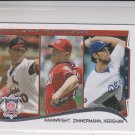 Zimmerman Adam Wainwright Clayton Kershaw LL 2014 Topps Mini Exclusives #294