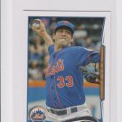 Matt Harvey Trading Card Single 2014 Topps Mini Exclusives #33 Mets