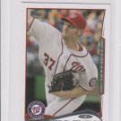 Stephen Strasburg Trading Card Single 2014 Topps Mini Exclusives #332 Nationals