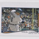Miguel Cabrera Trading Card Single 2014 Topps Mini Exclusives #335 Tigers AS