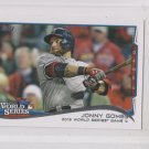 Jonny Gomes WS HLTrading Card Single 2014 Topps Mini Exclusives #146 Red Sox