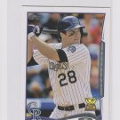 Nolan Arenado 2nd Year Trading Card 2014 Topps Mini Exclusives 275 Rockies