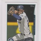 Nick Franklin Future Stars Trading Card 2014 Topps Mini Exclusives #169 Mariners