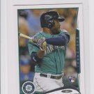 Abraham Almonte RC Trading Card 2014 Topps Mini Exclusives #256 Mariners