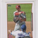 Kolten Wong RC Trading Card Single 2014 Topps Mini Exclusives #46 Cardinals