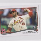Kevin Siegrist RC Trading Card Single 2014 Topps Mini Exclusives #344 Cardinals