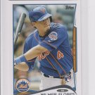 Wilmer Flores RC Trading Card Single 2014 Topps Mini Exclusives #86 Mets