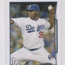 Onelki Garcia RC Trading Card Single 2014 Topps Mini Exclusives #197 Dodgers