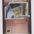 Android 20 Absorbing Drill Preview Trading Card Dragonball Z 2001 Score #1 *ROB