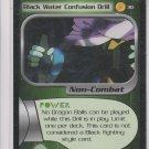 Black Water Confusion Drill Trading Card Dragonball Z 2001 Score #30 *ROB