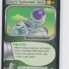 Black Overpowering Attack Trading Card Dragonball Z 2001 Score #21 Played *ROB