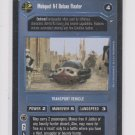 Mobquet A-1 Deluxe Floater Trading Card Single Decipher Star Wars A New Hope ROB