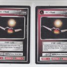 I.K.C. K'Ratak K'Vort Class Rare Decipher Star Trek LTD BB x2 (QTY)