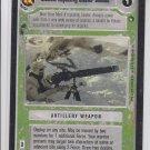 Medium Repeating Blaster Cannon Trading Card Decipher Star Wars Hoth LTD BB *ROB