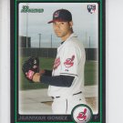 Jeammar Gomez RC Trading Card Single 2010 Bowman Draft #BDP54 Iindians