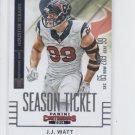 J.J. Watt Football Trading Card Single 2014 Panini Contenders #94 Texans
