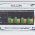 Ryan Ripken 1st Prospect Trading Card 2014 Bowman Draft #DP32 Nationals
