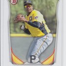 Josh Bell Top Prospect Trading Card 2014 Bowman Draft #TP16 Pirates