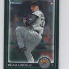 Brad Lincoln RC Trading Card Single 2010 Bowman Chrome Draft BDP21 Priates