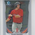 Blake Swihart Top Prospect 2014 Bowman Chrome Draft CTP84 Red Sox