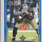 Marques Colston Blue Refractors 2014 Bowman Chrome #97 Saints 035/119
