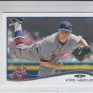 Kris Medlen Trading Card Single 2014 Topps Mini 66 Braves