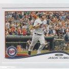Jason Kubel Trading Card Siingle 2014 Topps Mini #405 Twins