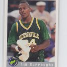 Tim Burroughs Trading Card Single 1992-93 Classic #62