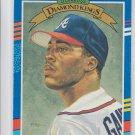 Ron Gant Diamond Kings Trading Cad Single 1991 Donruss #10 Braves
