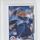 Mark Buehrle Trading Card Single 2014 Topps Mini #30 Blue Jays