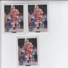 Brent Price Trading Card Lot of (3) 1992-93 Classic #75