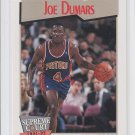 Joe Dumars Trading Card Single 1991-92 Hoops #463 Pistons SC