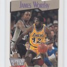 James Worthy Trading Card Single 1991-92 Hoops #474 Lakers SC