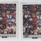Harold Miner RC Trading Card Lot of (2) 1992-93 Classic #84
