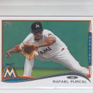 Rafael Furcal Trading Card Single 2014 Topps Mini 506 Marlins