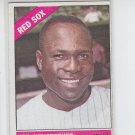 Joe Christensen Baseball Trading Card 1966 Topps #343 Red Sox VGEX Miscut