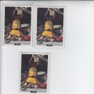 Byron Tucker Trading Card Lot of (3) 1992-93 Classic #83