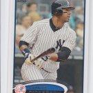 Chris Dickerson Baseball Trading Card Single 2012 Topps Series 2 #475 Yankees