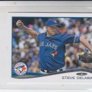Steve Delebar Trading Card Single 2014 Topps Mini 461 Blue Jays