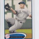 Brett Gardner Baseball Trading Card Single 2012 Topps Series 2 #635 Yankees