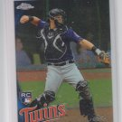 Wilson Ramos RC  Baseball Trading Card Single 2010 Topps Chrome #189 Twins