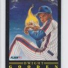Dwight Gooden  Pro Vision Insert 1991 Fleer #7 Mets NMMT