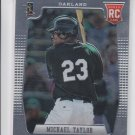 Michael Taylor RC Baseball Trading Card 2012 Panini Prizm #189 Athletics