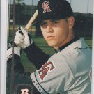 Tim Harkrider RC Baseball Trading Card 1994 Bowman #201 Angels