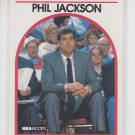 Phil Jackson Trading Card Single 1989-90 Hoops #266 Bulls Coach NMMT CENTERED